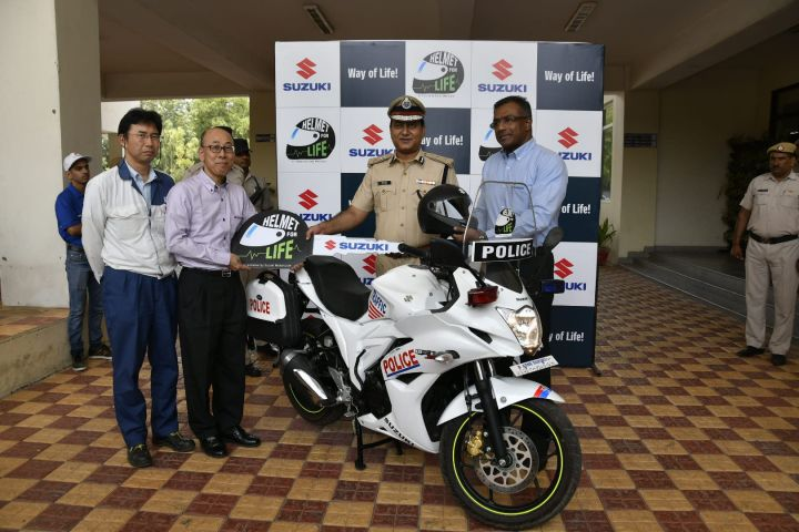 Suzuki To Give Away Free Helmets To Promote Road Safety