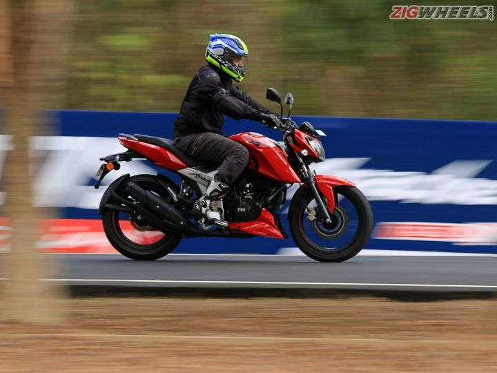 TVS Apache RTR 160 4V: First Ride Review