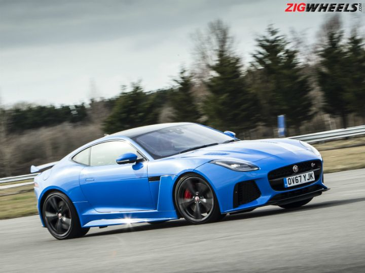 Jaguar F-Type SVR India