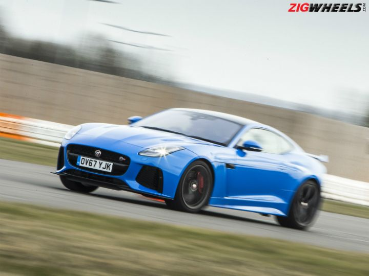 Mauled By A Jaguar F-Type SVR