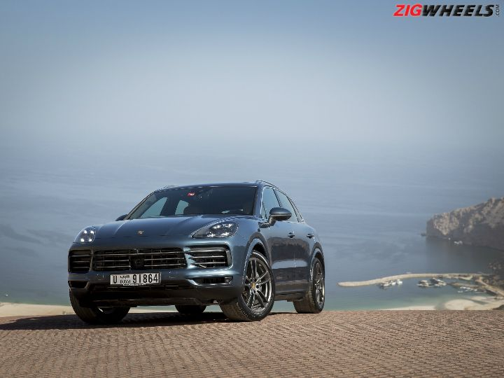 2020 Porsche Cayenne Coupe GT5 Gets Lambo Urus Engine >> 2018 Porsche Cayenne Launched Prices Start At Rs 1 19 Crore Zigwheels