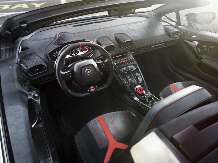Lamborghini Huracan Performante Spyder Breaks Cover: Geneva Motor Show 2018