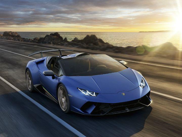 Lamborghini Huracan Performante Spyder Breaks Cover Geneva Motor