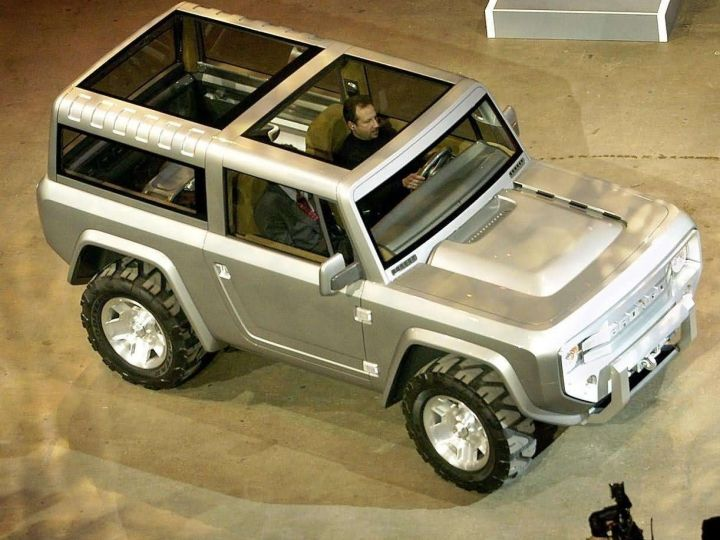 Ford Bronco Set To Make A Comeback! - ZigWheels