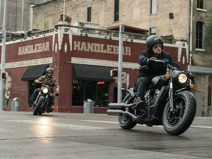 Indian Motorcycle Announces 'Scout Bobber Build-Off' Challenge