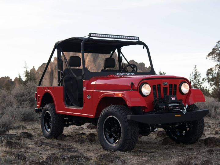 Mahindra Roxor Is Not The Thar, But Its Farm Cousin - ZigWheels