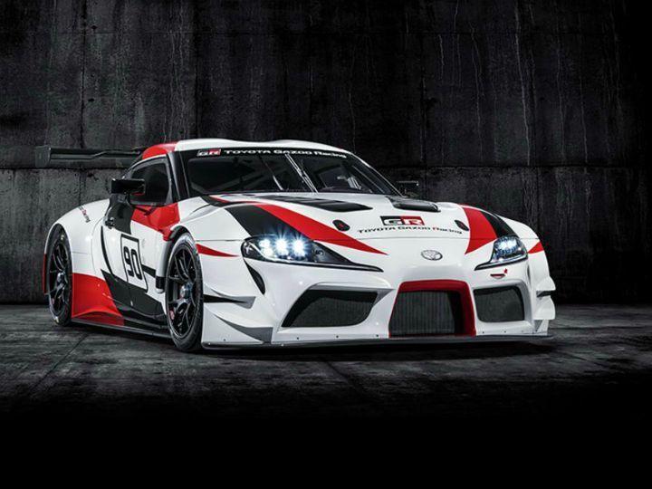 Toyota Unveils Gr Supra Racing Concept Geneva Motor Show