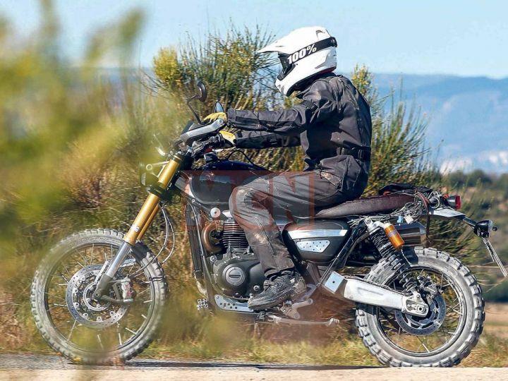 New 1200cc Triumph Bonneville Scrambler