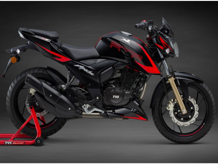 2018 TVS Apache RTR 200 4V Launched - ZigWheels on