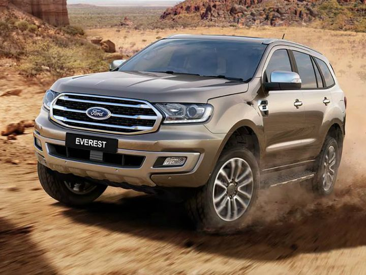 2019 Ford Everest/Endeavour Revealed