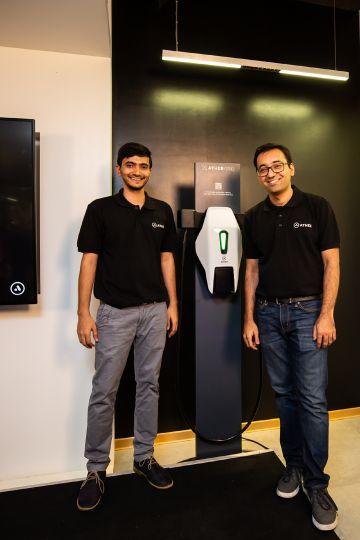 Ather Energy Sets Up Charging Stations Across Bengaluru
