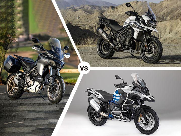 Triumph Tiger 1200 XCx vs BMW R 1200 GS vs Ducati Multistrada 1260S: Spec Comparison
