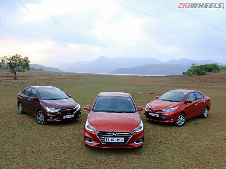 Hyundai Verna vs Honda City vs Toyota Yaris: Petrol Automatic Review