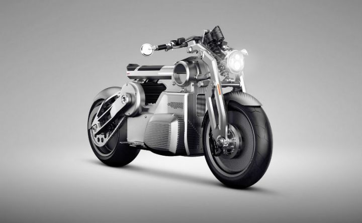 Curtiss Motorcycles' Electric Prototype Unveiled