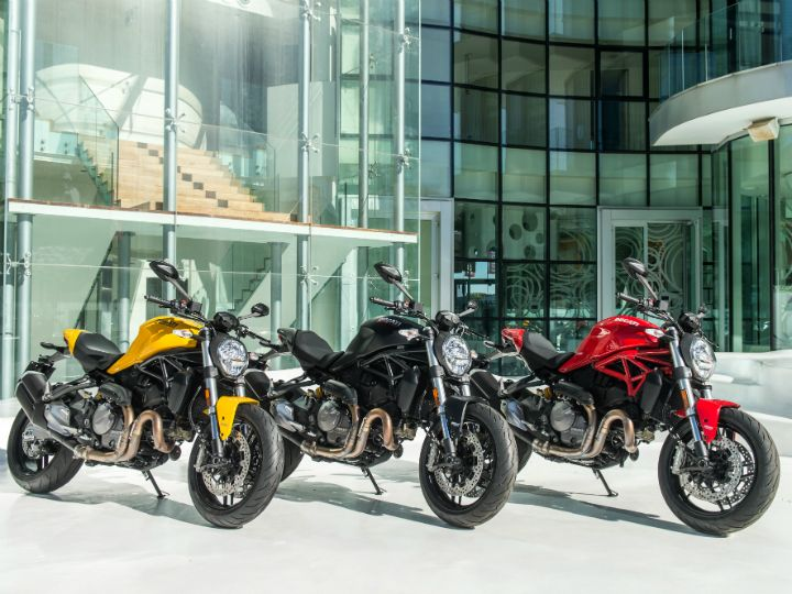 Ducati Monster 821 Launched At Rs xx Lakh