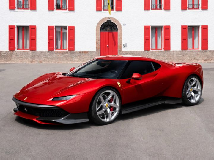 Ferrari SP38 Deborah Revealed