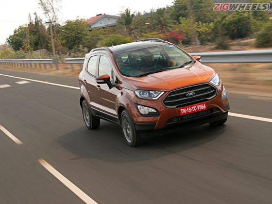 2018 Ford EcoSport S 1.0 EcoBoost: First Drive Review