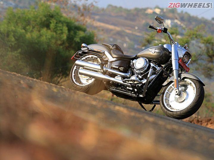 Harley-Davidson Fat Boy: Road Test Review - ZigWheels