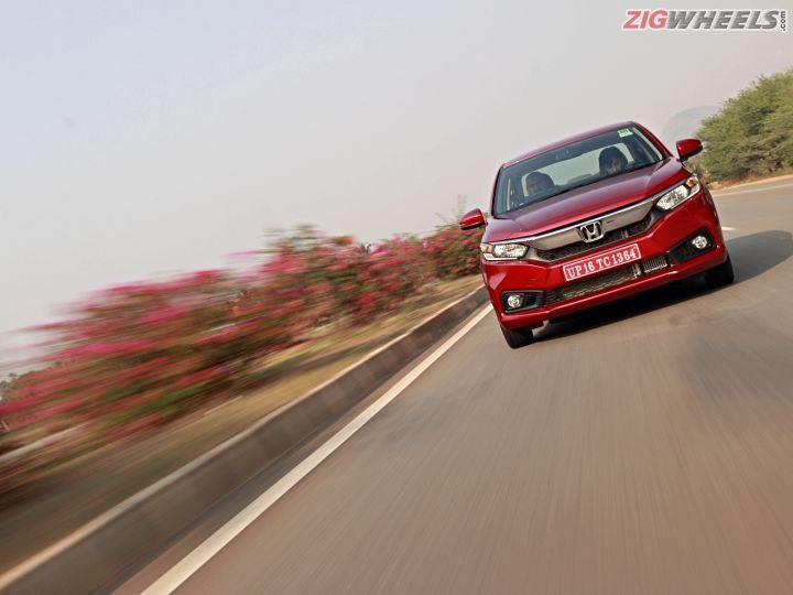 Honda Amaze In Pictures