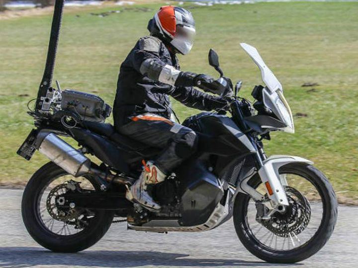KTM 790 Adventure Spied Again