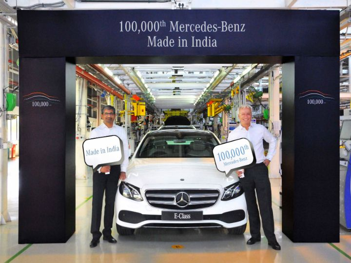 Mercedes Benz Becomes Only Luxury Carmaker In India To Reach