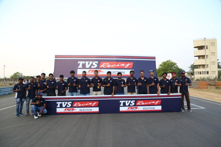 TVS Apache RR One Make Participants Announced
