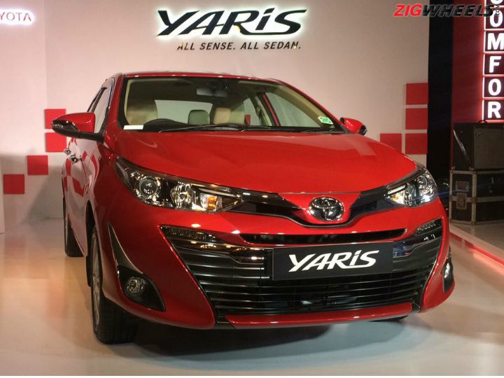 Toyota Yaris Launched Officially