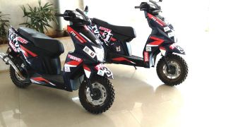 This Rally-Tuned TVS NTorq Makes Over 20PS And Can Do 120+kmph!