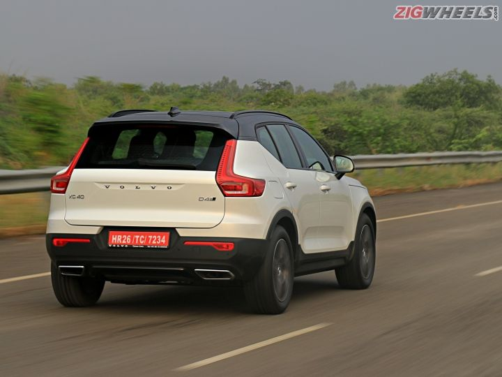 volvo xc  drive review  pictures zigwheels