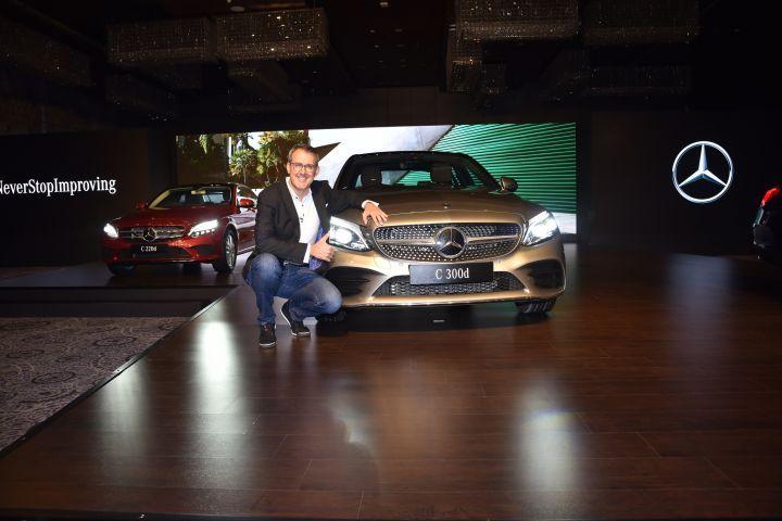New Mercedes C Class petrol incoming