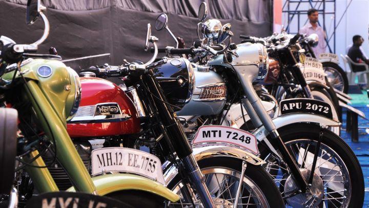 ISF 2018 vintage bikes