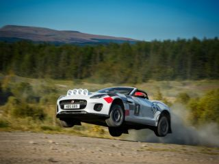 I Wish I Could Rally A Jaguar F-Type, Said No One Ever