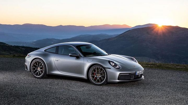 Porsche's 911 has been retouched in all the right places