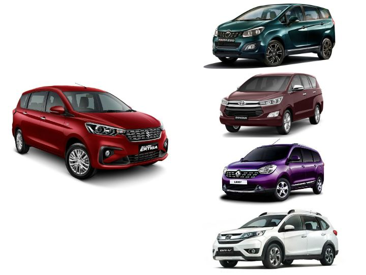 Maruti Ertiga vs Competition