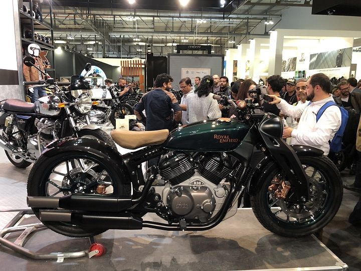 838cc V-twin Royal Enfield Concept KX Unveiled At EICMA 2018