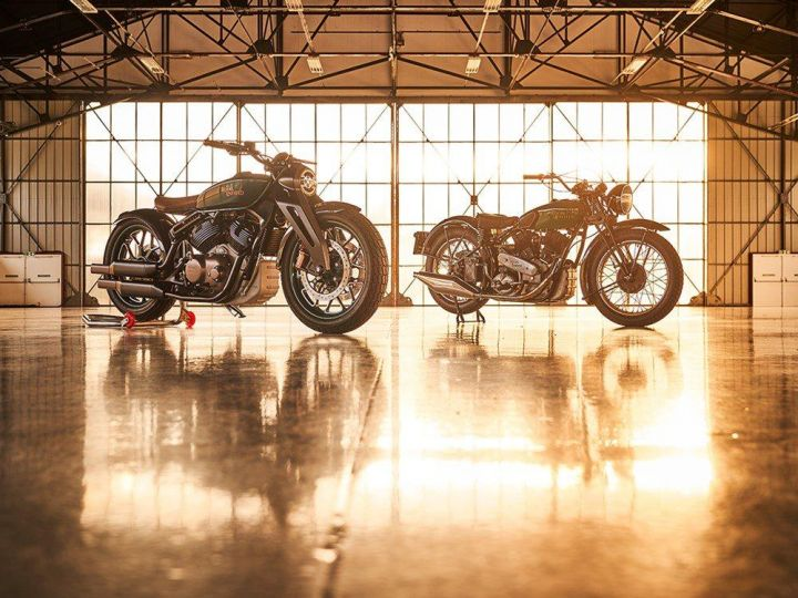838cc V Twin Royal Enfield Concept Kx Unveiled At Eicma 2018 Zigwheels
