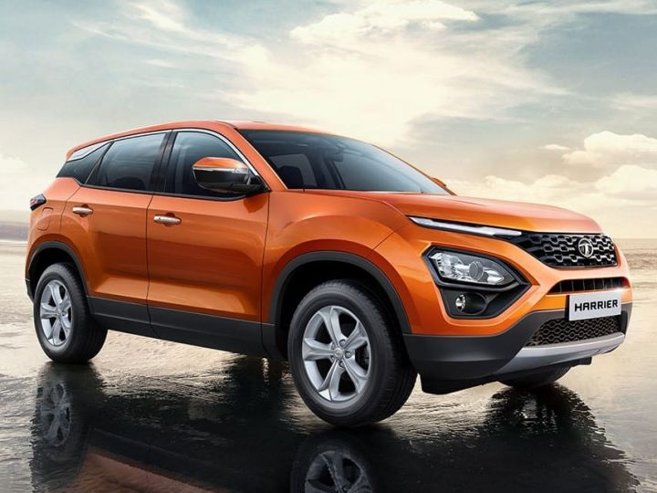 Tata Harrier Interiors Revealed In Spy Pictures