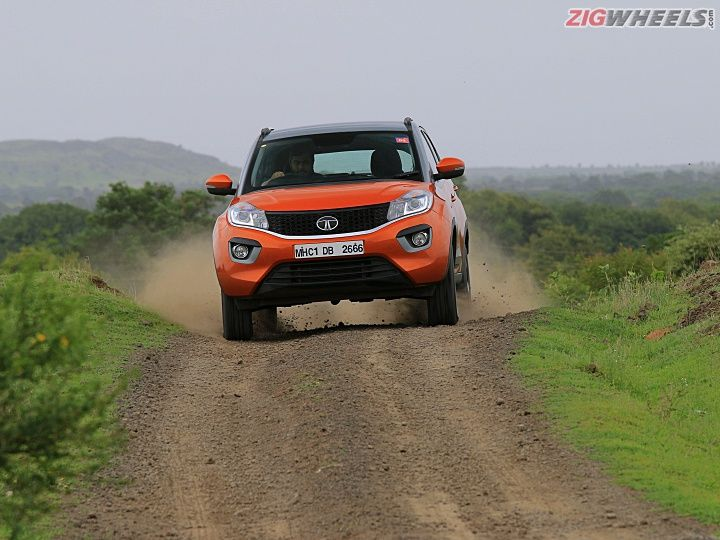 Tata Nexon Spotted With Cruise Control