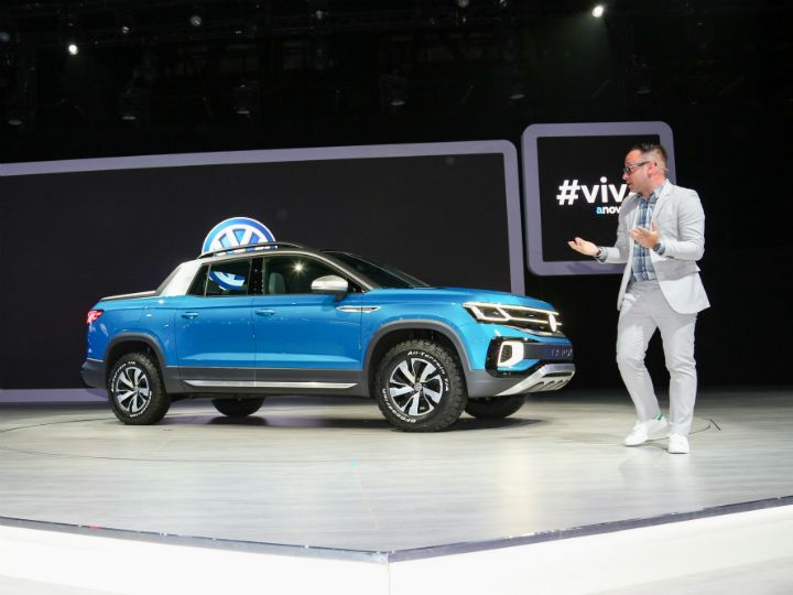 Volkswagen Taroq Concept Pick-Up Revealed Sao Paulo 2018