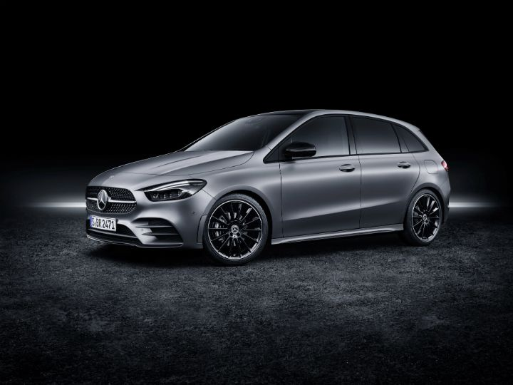 Mercedes Benz Has Unveiled The Latest Generation Of The B Class Hatchback  At The 2018 Paris Motor Show. The New Hatchback Is Part Of Mercedesu0027 Ever  ...