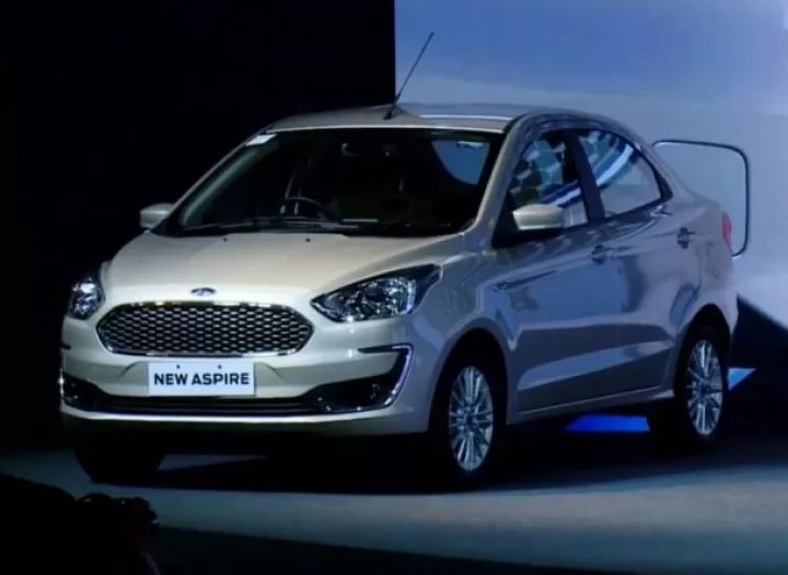 2018 Ford Aspire Launched