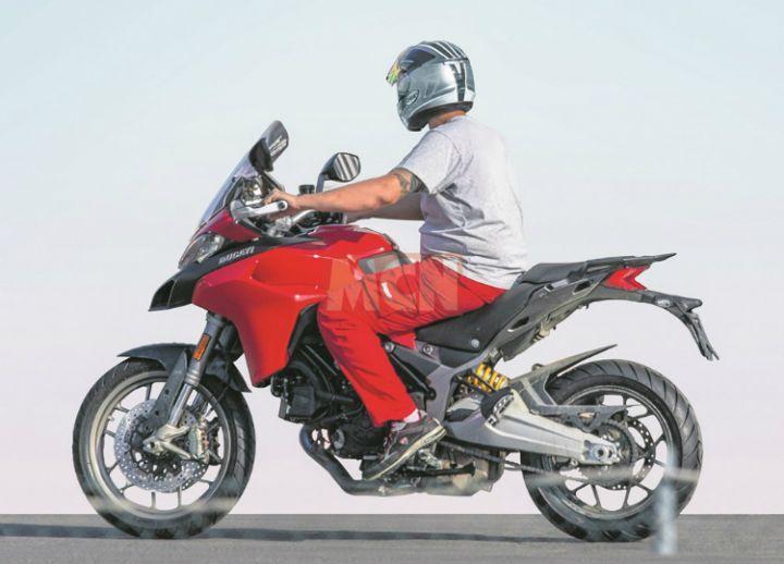 2019 Ducati Multistrada 950 spy pic