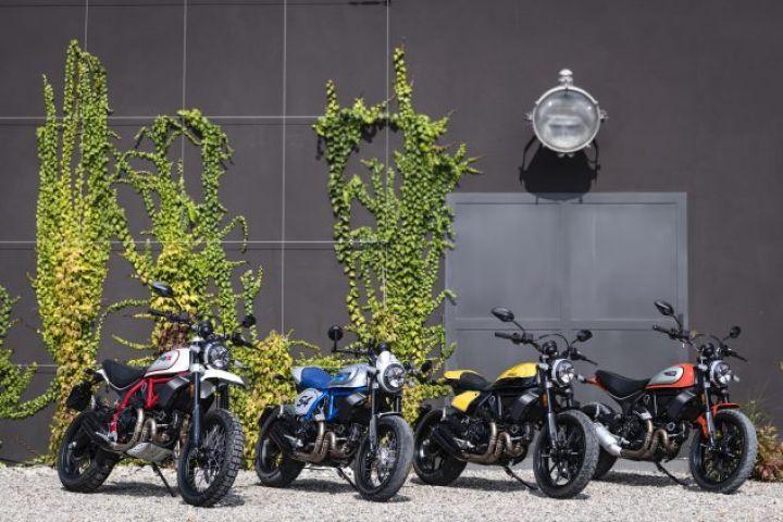 Ducati Unveils MY 2019 Scrambler Range at Intermot