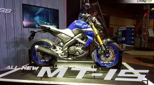 2019 Yamaha Mt 15 Showcased In Thailand Zigwheels