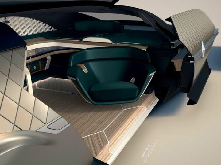 Renault Ez Ultimo Autonomous Luxury Paris Motor Show 2018 Zigwheels