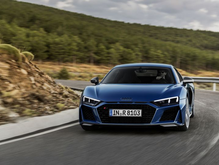 Audi R8 rebooted with new look and more power