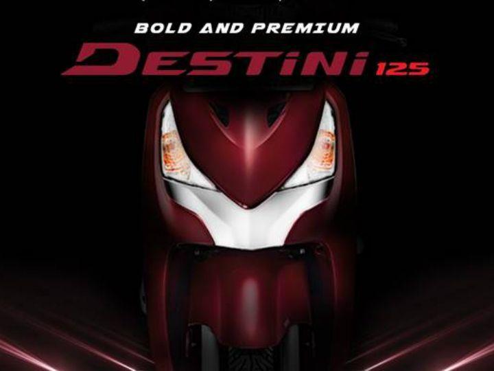 Hero Destini 125 Launch On October 22