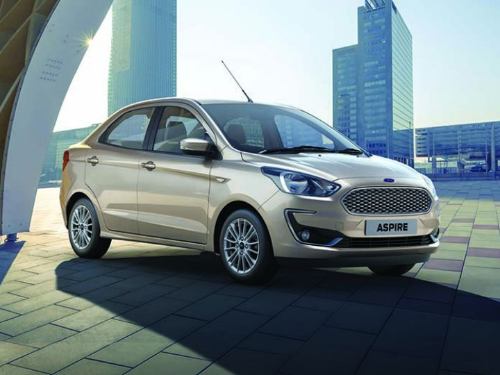 Ford Aspire Facelift Launch Tomorrow