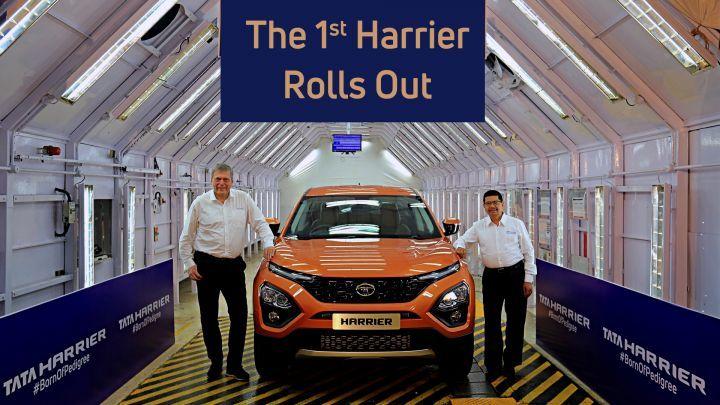 Tata Harrier revealed