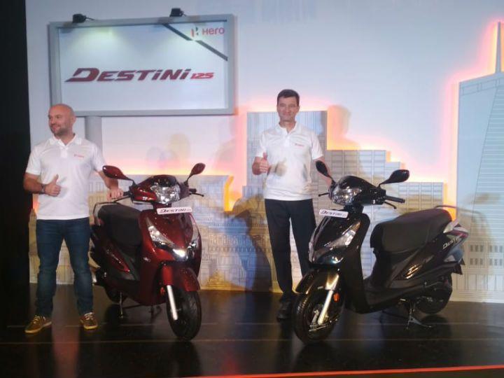 Hero Destini 125 launch